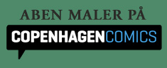 Aben maler p Copenhagen Comics