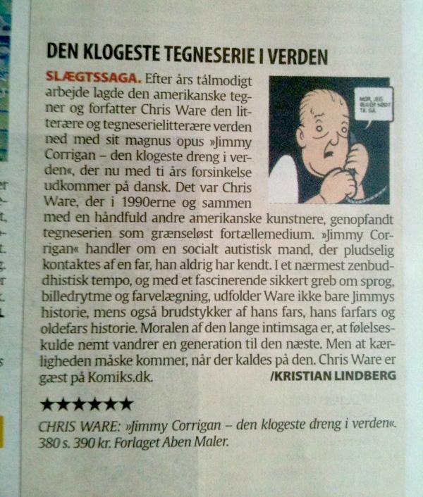 Berlingske Tidende: Den klogeste tegneserie i verden