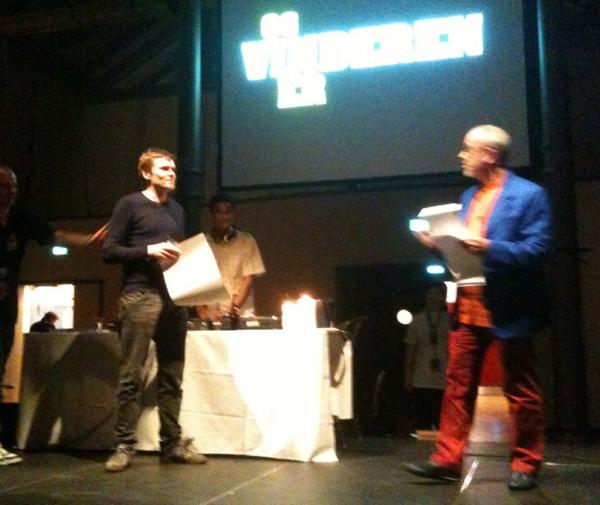 Mikkel Damsbo vinder
