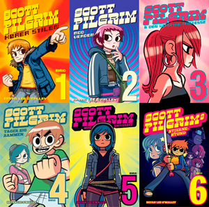 Bryan Lee O'Malley: Scott Pilgrim
