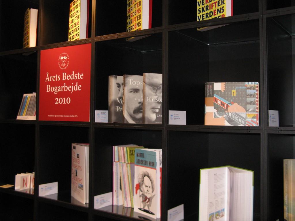 Chris Wares Jimmy Corrigan på udstillingen af årets boghåndværk
