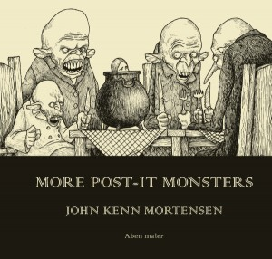 John Kenn Mortensen: More Post-It Monsters