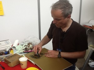 Emmanuel Guibert signerer