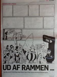 Philip Ytournels Copenhagen Comics-forside